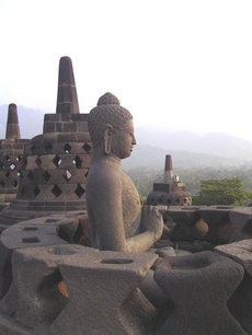 Borobudor in Indonesië