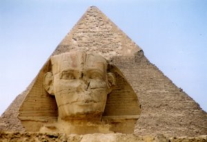 Gizah Piramide in Egypte 16