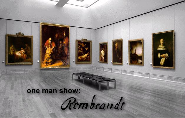 One man show Rembrandt