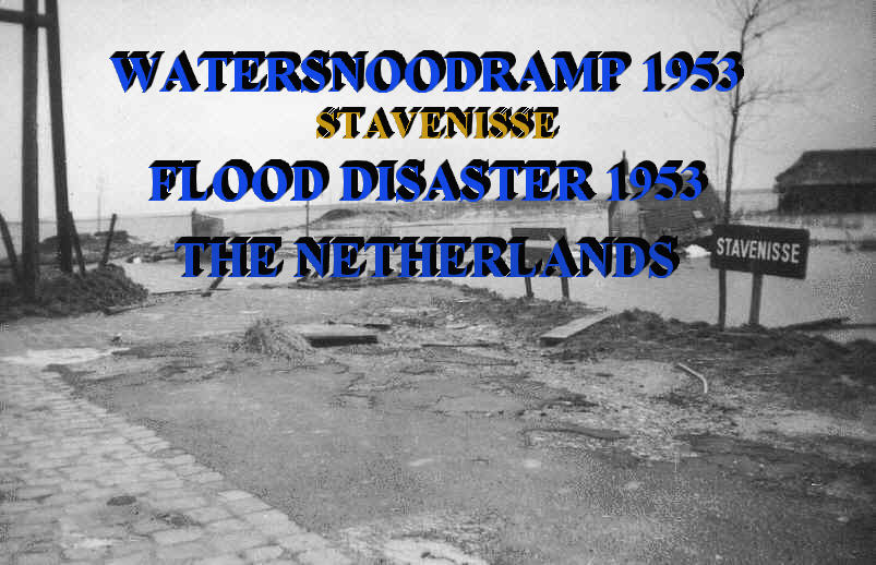 Watersnoodsramp 1953 in Stavernisse
