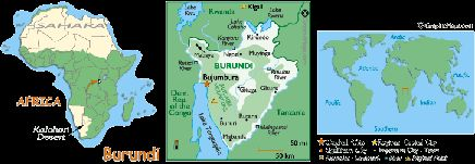 Kaarten burundi - World Atlas.